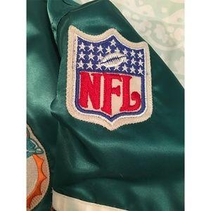 STARTER Jackets & Coats - Vintage 1980's Starter Pro Line Miami Dolphins NFL